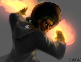 Afro Lion :Art Trade: by AniGami