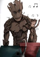 We Are Groot by AveryMoneco