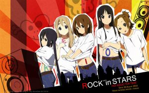 K-on Girls by AnielmiaH
