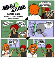 Extra Lives - Facial Hair by DR4WNOUT