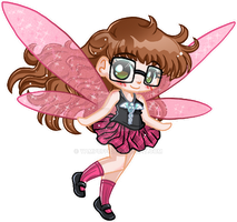 Micro Chibi Fairy Commission by YamPuff