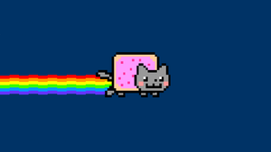 NYAN Cat Wallpaper by DharmaInitiative2010
