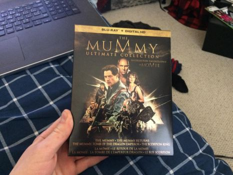 I got the MuMmy collection by EJLightning007arts