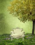 BG  The White Chair by Avahlon-Stock
