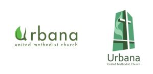 Urbana United Methodist Church Logos by robertllynch