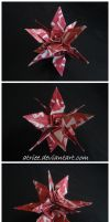 Spiral Spear Kusudama by Atriee