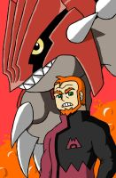 TBFP: Team Magma Leader Pat by Brian12