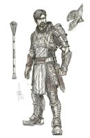 Concept Art: Dragon Rider/Knight by atongwali