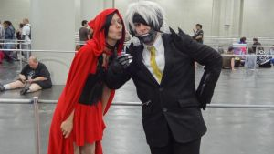 Raiden Gets All The Ladies... Even The Wolfy Ones by CyberIncision