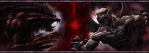 Vampires Vs Werewolves Re-Make by AlanVadell