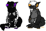 Hell Hound Adoptables by MagmaRock