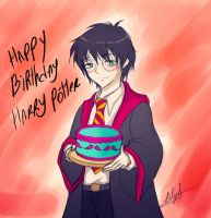 Happy Birthday Harry by Eilyn-Chan