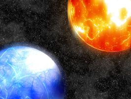 Two Planets by Seph-the-Zeth