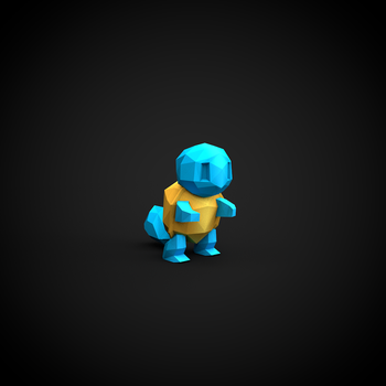 Squirtle by InkTheory