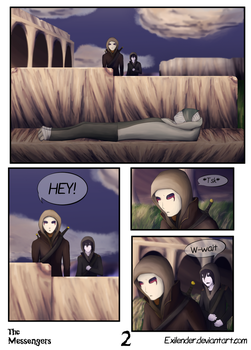 The Messengers pg 2 by Exilender