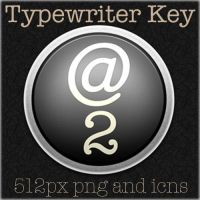 Typewriter Key icons by luci360yuki