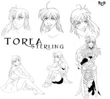 Torea Sterling Character Sheet by Robaato