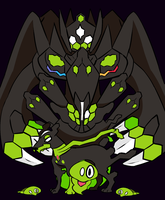 Zygarde by BunnyBunBoy