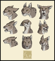 Aika expressions test by BUGHS-22