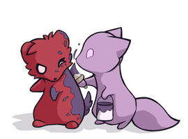 The Purpleing by Furrama