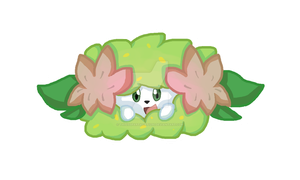 shaymin by thisisspartacat1230