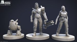 Armoured Syndicate Miniatures by TLishman