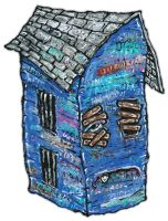 Blue House by justinaerni