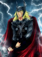 Thor by AlcoholicRattleSnake