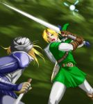 OoT: Small knife v Big Knife by Naolin-Nox