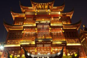 Chinese temple by Hopscotchbaby