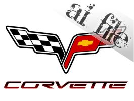 CORVETTE LOGO____AI. FILE by markos040122