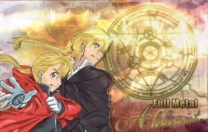 Full Metal Alchemist Wallpaper by InkForSalvation