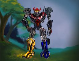 Megazord redesign by gmcube