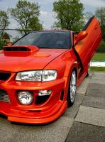 Subaru Hot Orange by Vipervelocity
