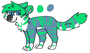 tiger design for wallehkat by poltergyst