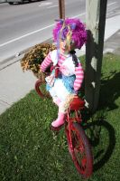 Just another Bike Riding Scarecrow in Brechen by KeswickPinhead
