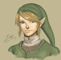 Link Speedpaint by KittyCatKissu