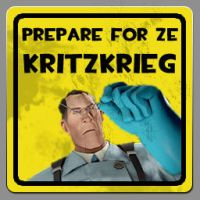 TF2 Kritzkrieg spray by gonzonl