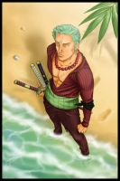 Contest - Zoro by SUPERGX by Eriin84