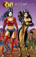 Jetta and Shi by martheus