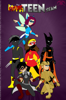 FOP: Future Teen Team -cover poster- by KPenDragon