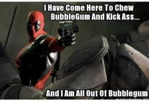 Deadpool Is Nada by PsychosisEvermore