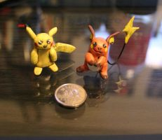 Pikachu evolution set by cheese-puff82