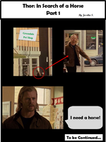 Thor: In search of a horse part 1 by look1993