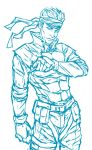 Solid Snake by Asenath23