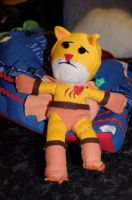 Catman Voodoo Doll Plushie 2 by deense