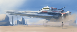 Ship speed paint by Raikoh-illust