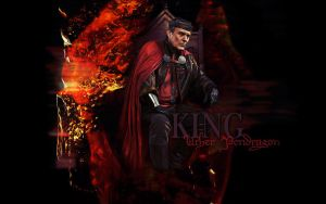 King Uther by magic-ban