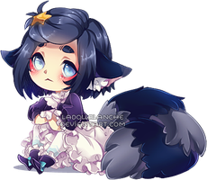 chibi Esther by LaDollBlanche