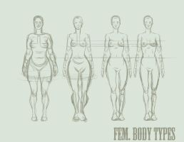 FEMALE BODIES by SinCommonStitches